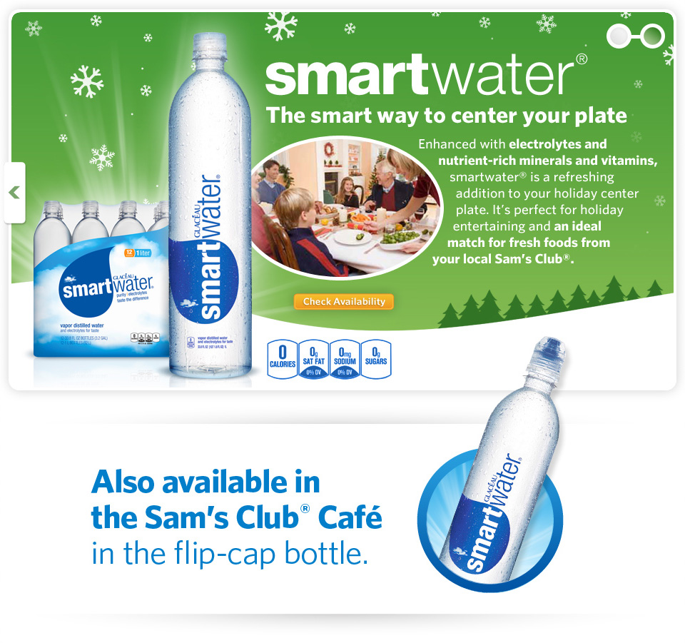 Smartwater - Holiday